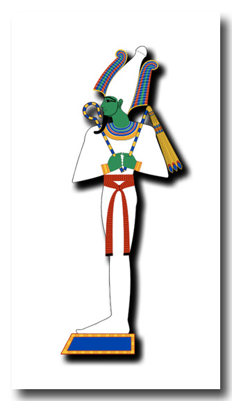 Ancient Egyptian God Osiris - King of the Afterlife