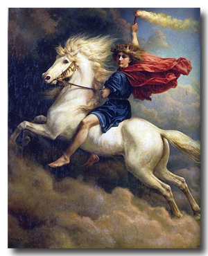 Dagr - The Norse God of the Day