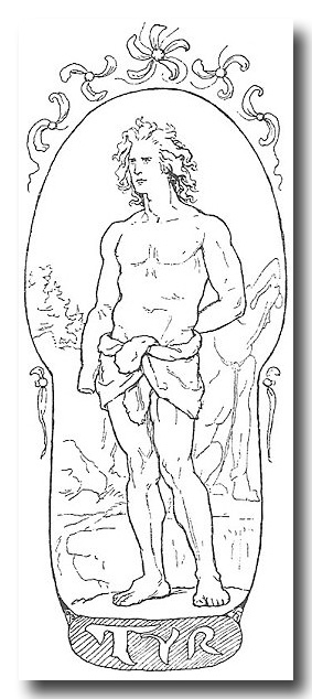 Tyr - Norse God of courage