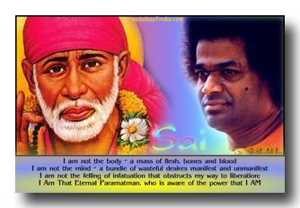 Shirdi Sai and Sathya Sai Baba