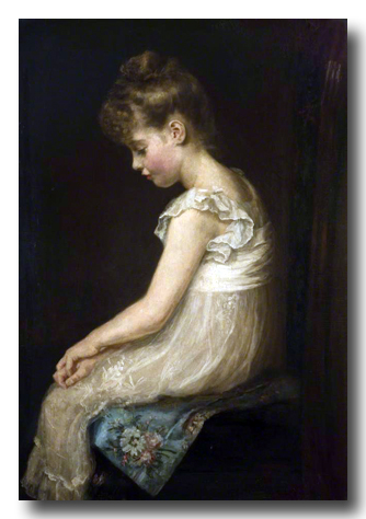 Meditation by John Everett Millais 1879