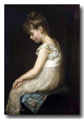 Meditation by John Everett Millais 1879